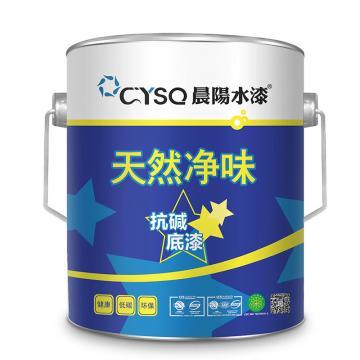 晨阳 内墙水漆,天然净味抗碱底漆,白,6kg/桶