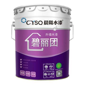 晨阳 外墙水漆,外墙抗碱底漆(碧丽团),清,18kg/桶