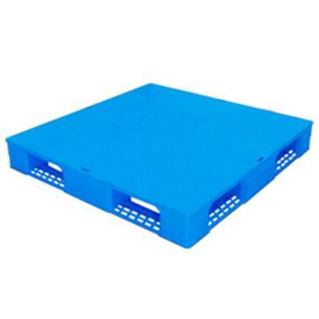 恋亚 塑料托盘,平板田字,全新HDPE料,尺寸(W*D*H)mm:1200*1200*150,蓝色,动载1.2T,静载4T,上货架载重:0.7T