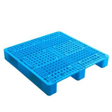 恋亚 塑料托盘,网格川字,全新HDPE料,尺寸(W*D*H)mm:1250*1000*170,蓝色,动载1.2T,静载4T,上货架载重:0.7T