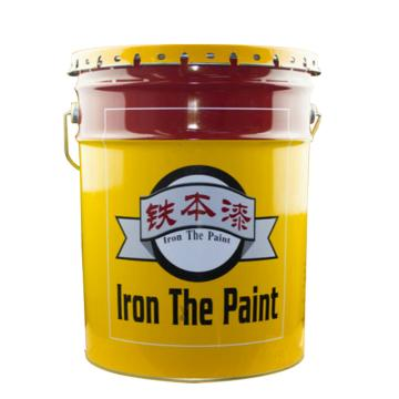 铁本 水性丙烯酸金属漆,黑色,15kg/桶