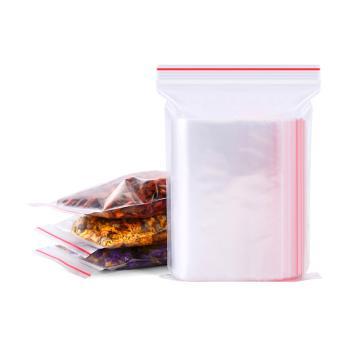 PE自封袋,8号,双边厚度:5丝,100/包