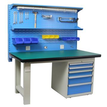 好适 重型电工作台,台面尺寸:1500*750*50mm承重:200kg,JR-018-1500 不含安装费