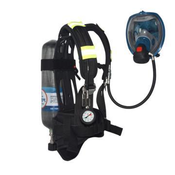 海固 空气呼吸器,RHZK F3.0/30,3L 标准空气呼吸器 碳纤维复合气瓶