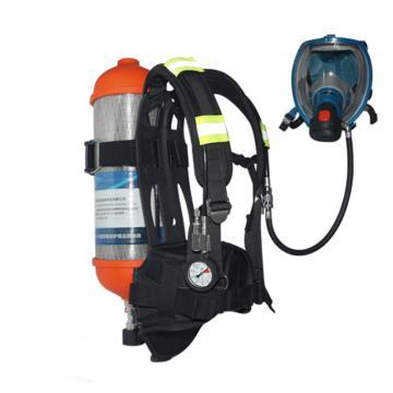 海固 空气呼吸器,RHZK F6.8/30,6.8L 标准空气呼吸器 碳纤维复合气瓶
