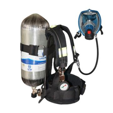海固 空气呼吸器,RHZK F12/30,12L 标准空气呼吸器 碳纤维复合气瓶