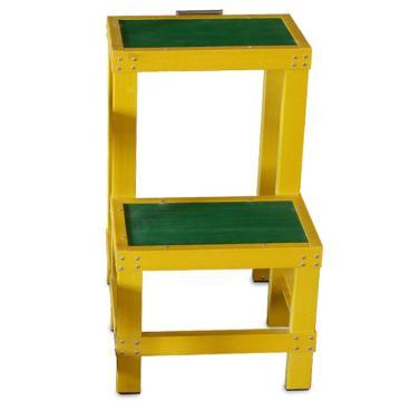 金能电力 绝缘两层脚凳,台面30*50 长宽高60*50*80