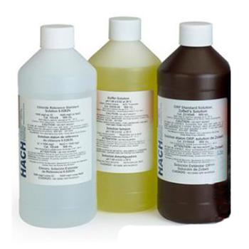 哈希 铁试剂溶液,测试范围0.009 to 1.40 mg/L,500ml装