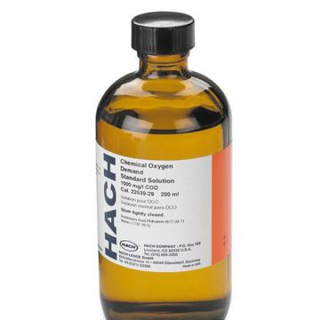 哈希 COD标准液,规格1000mg/L 200ml,货号2253929