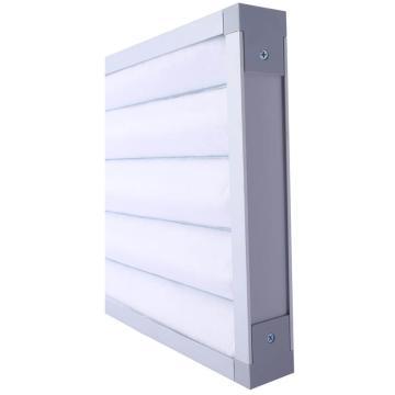 FLMFIL 铝框板式可清洗初效空气过滤器292*594*46mm,过滤效率G4