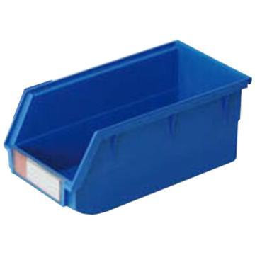 (全新料)背挂式零件盒, 105×190×75mm (蓝)