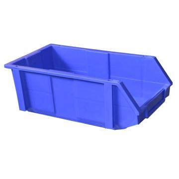 (全新料)组合式零件盒, 200×340×155mm (蓝)