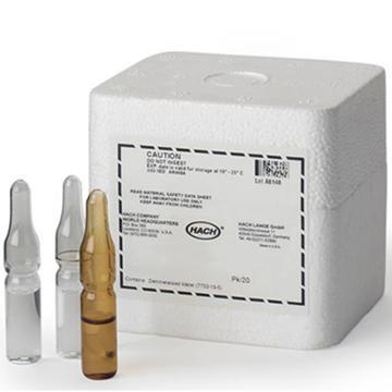 试剂,哈希 总余氯试剂,2-500μg/L(Cl2),25630-00
