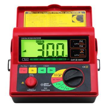 希玛/SMART SENSOR 漏电开测试仪,AR5406,10/20/30/200/300/500mA