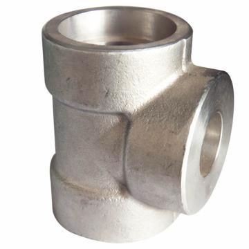 洲际 不锈钢承插焊三通DN40    6000lb