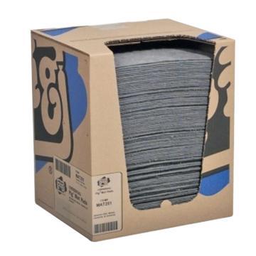 NEWPIG重型小号通用型吸附垫,25cm*33cm 100片/箱