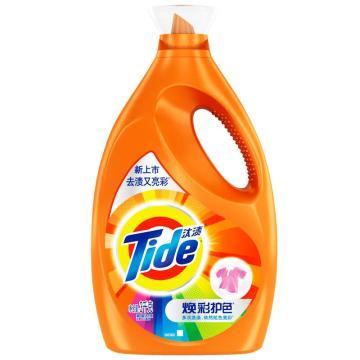 汰渍焕彩护色洗衣液,3千克, 单位:瓶