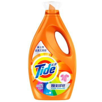 汰渍焕彩护色洗衣液,2千克, 单位:瓶