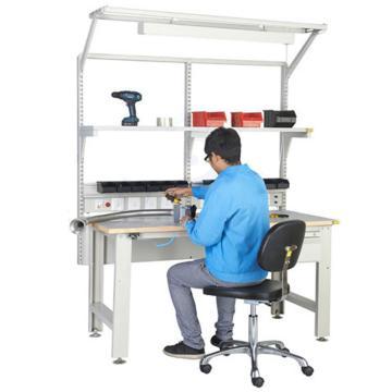 森亿 防静电框架工作台1830*900(含单抽,含电源盒、不含移动柜),SEG-02-D