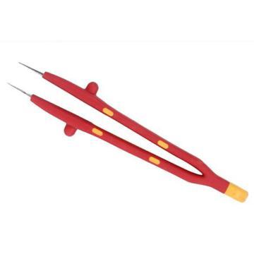 绝缘镊子,针尖无齿型 130-150mm,S150012