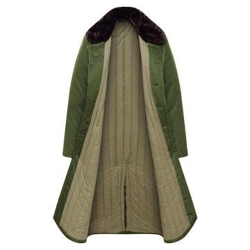 军绿色棉大衣,均码(仅冬天销售)