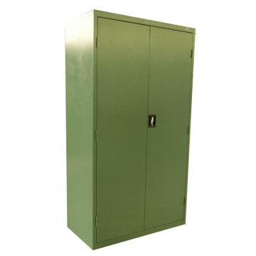 层板式置物柜, 1050×550×1900mm(三块层板)绿色(RAL6011)