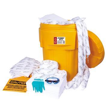 西斯贝尔SYSBEL 95加仑泄漏应急处理桶套装,油类专用,SYK952