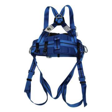 霍尼韦尔Honeywell 带护腰全身式安全带,1011894A,Titan双挂点标准型 配有定位腰带