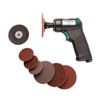 世达迷你气动打磨机组套,75mm 3寸,02521