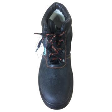 EHS中帮加人造绒安全鞋,保护足趾、防刺穿、防静电,39