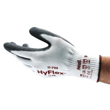 安思尔Ansell 5级防割手套,11-735-9,HyFlex防割手套