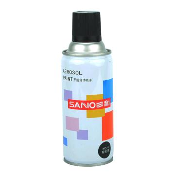 三和 自动喷漆,哑光黑,NO.4,350ml/瓶,(12瓶/箱)