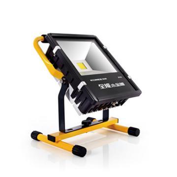 科明 手提式LED工作灯 KMFG-50W单头工型支架 6500K 白光 输入电压 220V