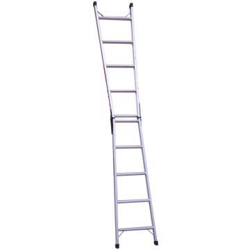 铝合金直马梯两用梯, 1.75~3.15m 120kg