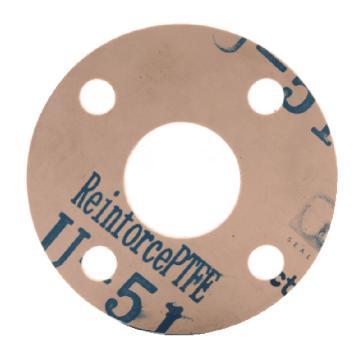 HG/T20606 U-51改性四氟垫片 RF DN20 PN16 T=1.5mm RPTFE,5件/包