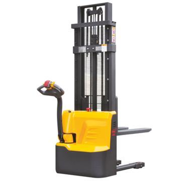 西林 经济型全电动堆高车,额定载重(kg):1000,货叉尺寸(mm):695*1150,升高1.6米