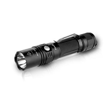 Fenix 户外铝合金LED手电筒,PD35 战术版黑色1000lm含抱夹(不含电池和充电器),单位:个