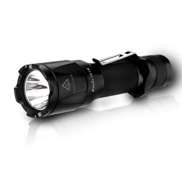 Fenix 紧凑便携高亮防水LED手电筒,TK16 XM-L2 U2黑色1000lm(不含电池和充电器),单位:个