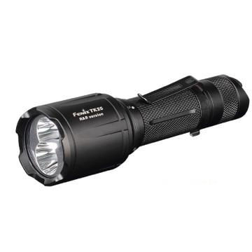 Fenix 红白蓝三光源夜钓狩猎手电筒TK25 R&B黑色1000lm含手电套、抱夹(不含电池和充电器),单位个