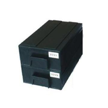 三威 防静电元件盒,240*140*70mm抽屉式,黑色