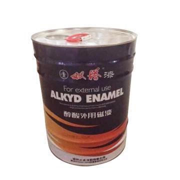 双塔 醇酸磁漆,灰白,STQGC1-330需定制,3KG/桶