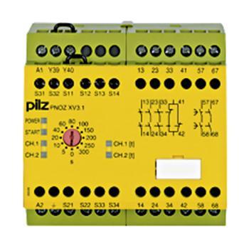 皮尔兹Pilz 安全继电器,PNOZ XV3.1 300/24-240V AC DC 3no 774618