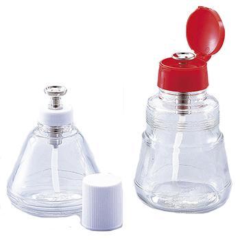 进口手压泵试剂瓶,玻璃,200ml