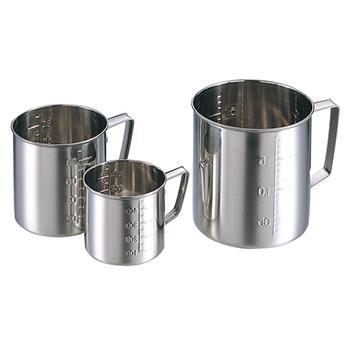 进口不锈钢烧杯(刮平型),1.5l
