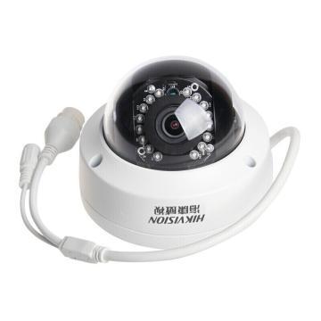 海康威视 400万半球型网络监控摄像头 支持SD卡 带POE供电 红外10~30米  DS-2CD3145F-I(6mm)