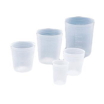 进口一次性用烧杯(真空型),V-150Cml,1000个/箱