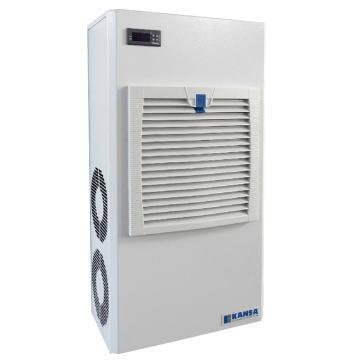 康赛 侧装式机柜空调,CAW-630,220V,制冷量630W,白色