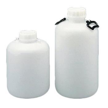 进口高密度聚乙烯广口大瓶,5L,口内径×瓶体直径×高φ74×φ174.5×290mm