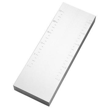 普申 大双槽刮板细度计,0-15微米,PS 2440