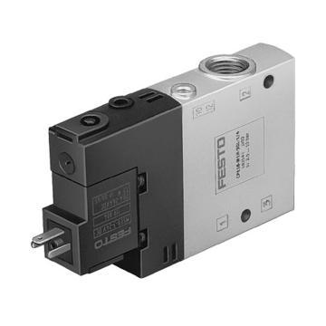 费斯托FESTO 两位三通单电控电磁阀,CPE18-M1H-3GLS-1/4163145